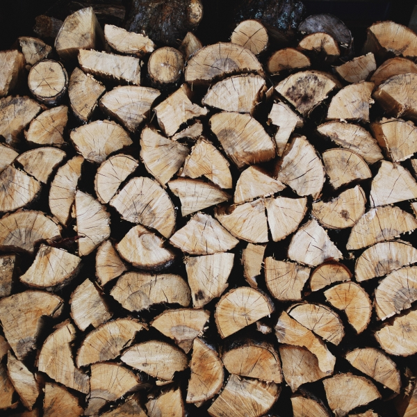 Kiln dried logs at Stourton Estates