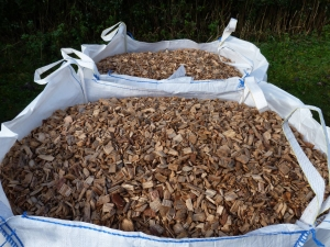 Bag of woodchip