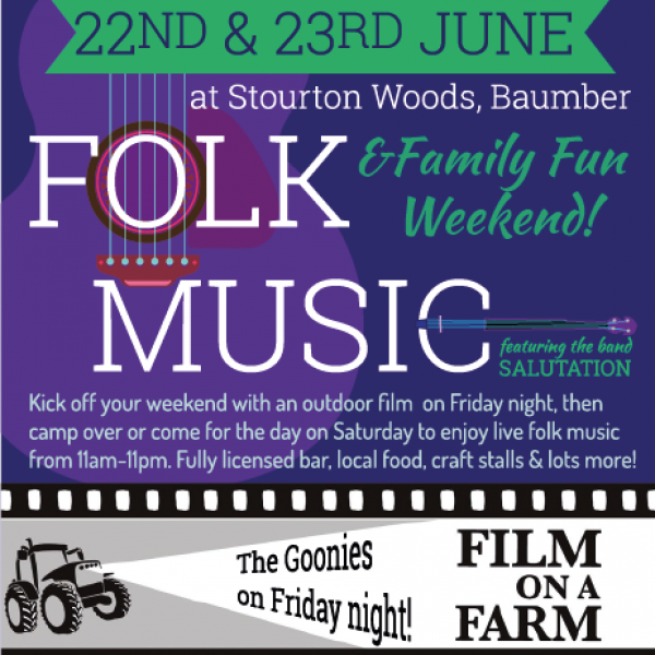 Folk & Film Flyer