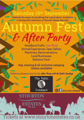 Autumn Fest Flyer 2018
