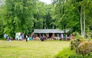 Safari tent at Stourton Estates